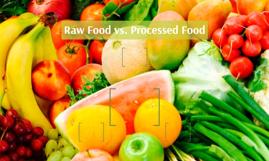 Raw Food vs. Processed Food
