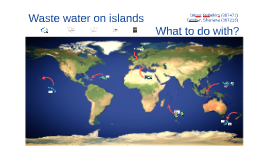 Waste water on islands