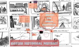 modern historical portrait