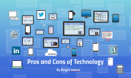 Pros and Cons fo Technlogy