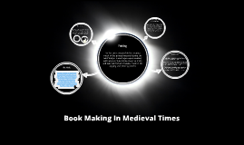 Book Making In Medieval England