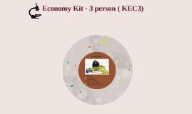Economy Kit - 1 person ( KEC1)