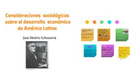 Consideraciones  sociológicas sobre