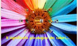 Il significato psicologico dei colori