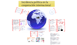 Incidencia Política en la Cooperación Internacional