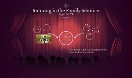 Running in the Family Seminar