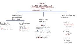 Copy of Cross disciplinarity
