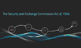 The Security and Exchange Commission