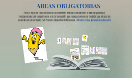 AREAS OBLIGATORIAS