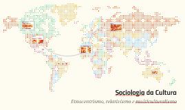 Sociologia da Cultura