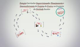 Estagio Curricular Supervisionado: Planejamento e Desenvolvi
