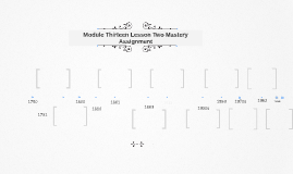 Module Thirteen Lesson Two Mastery Assignment
