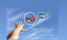 Missão Empresarial AICCOPN 2012