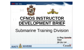 CFNOS Sub Div ID Brief