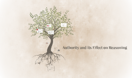 Authority and Its Effect on Reasoning