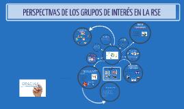 Perspectivas de los grupos de interés