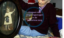 Omgaan met zingevingsvragen in de palliatieve zorg - 2