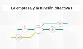 Copy of La empresa y la funcion directiva