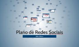 Plano de Redes Sociais