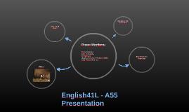 English41 - A55 - Presentation