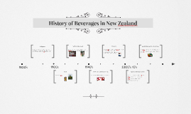 Copy of History of Beverages in New Zealand