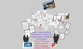 Copy of Copy of Copy of Copy of Pushing Back When OSHA's Unreasonable: Building A Winning Ha