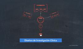 Diseños de Investigación Clínica