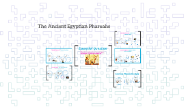 The Ancient Egyptian Pharoahs