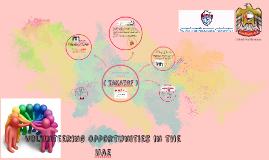 volunteering opportunities in the Uae