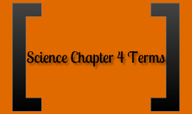 Science Chapter