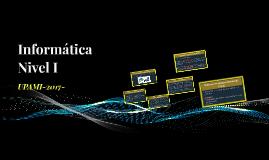 Informática Nivel I