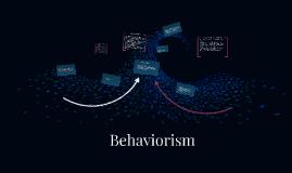 Copy of Behaviourism