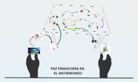 PAZ FINANCIERA EN EL MATRIMONIO