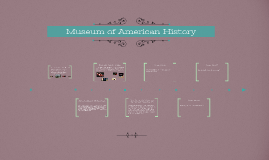 Olivia Mendoza, D.C. Project: Museum of American History