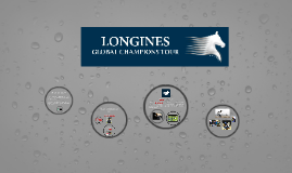 Longines Global Champions Tour.