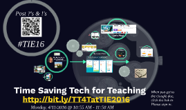 Time Saving Tech for Teaching