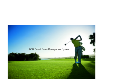 OCR Based Score mangament System