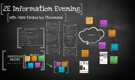 2E Information Evening