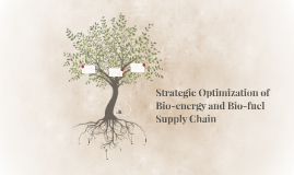 Strategic Optimization of Forest Residues to Bioenergy and B