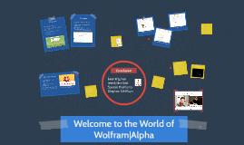 Copy of WolframAlpha