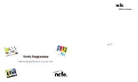 Study Programme - CST Prezi