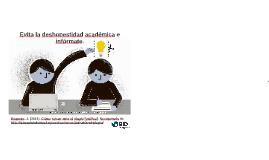 Orientación: Honestidad Académica - BID INDES