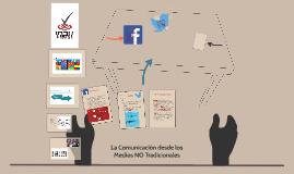 Comunicación desde medios no tradicionales