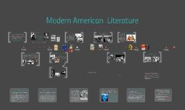 Introduction to American Modern Literature. Yeganeh Memarian