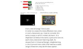 Constructivist Model of Instructional Design