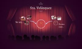 Sra. Velázquez