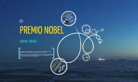 Premio Nobel 2000-2006
