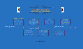 Life of PI Timeline