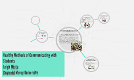 Healthy Methods of Communicating with Students