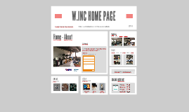 W.INC HOME PAGE